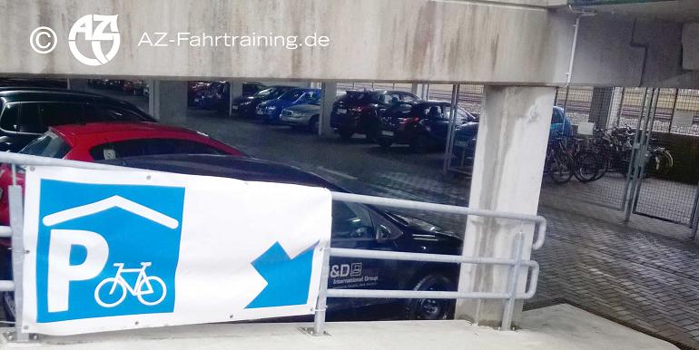 TastForce Verkehr in Wolfsburg Fahrradparkhaus